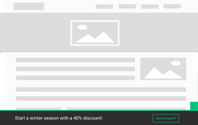 FloatAny - using scenario: coupon code full width bottom