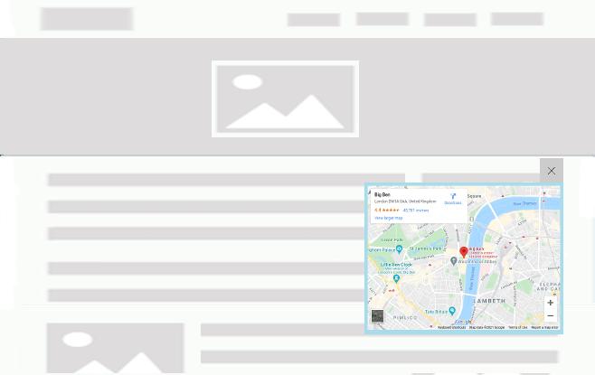 FloatAny - using scenario: Embed Google map