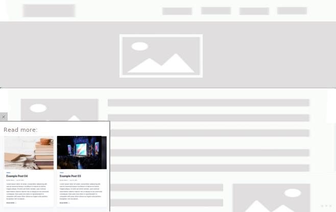 FloatAny - using scenario: Read more articles